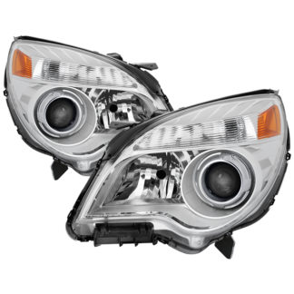 ( OE ) Chevy Equinox LTZ  Halogen only 2010-2013 ( Won't Fit LS  LT and HID Models ) OEM Style Headlights - Chrome