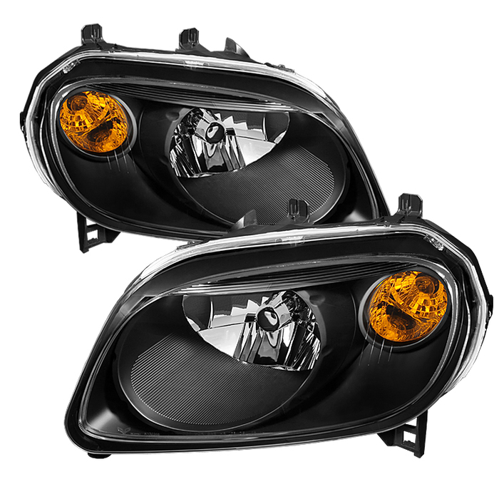 ( xTune ) Chevy HHR 2006-2011 Crystal Headlights - Black