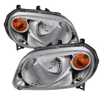 ( OE ) Chevy HHR 2006-2011 Crystal Headlights - Chrome