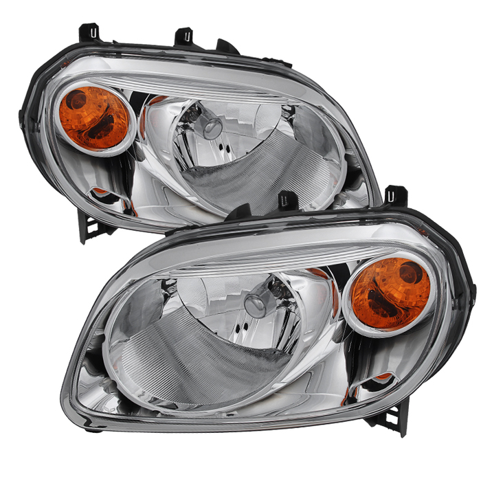( OE ) Chevy HHR 2006-2011 Crystal Headlights - Chrome