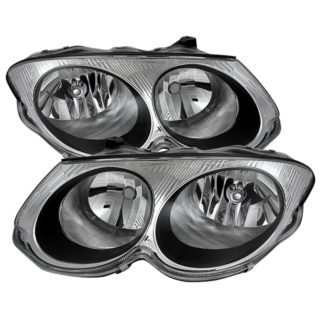 ( OE ) Chrysler 300M 1999-2004 (don't fit HID model) Crystal Headlights - Chrome