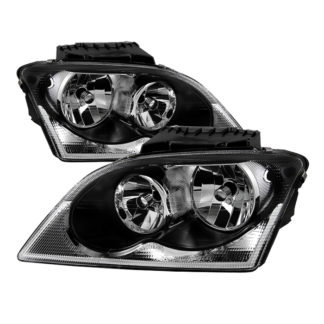 ( xTune ) Chrysler Pacifica 04-06 Halogen OEM Style headlights - Black