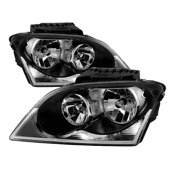 ( xTune ) Chrysler Pacifica 04-06 Halogen OEM Style headlights - Black