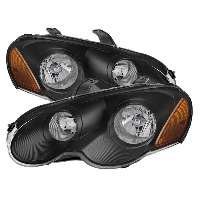 ( xTune ) Chrysler Sebring 03-05 2dr Coupe (does not fit convertible) Only Headlights -Black
