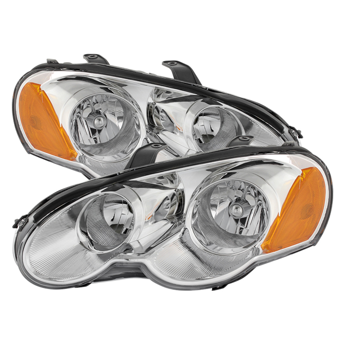 ( OE ) Chrysler Sebring 03-05 2dr Coupe (does not fit convertible) Only Headlights -Chrome