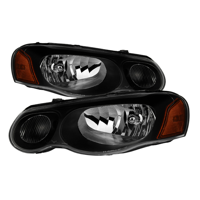 ( xTune ) Chrysler Sebring Convertible & Sedan 04-06 ( Does not fit 2 door ) OEM Style Headlights - Black