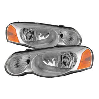( OE ) Chrysler Sebring Convertible & Sedan 04-06 ( Does not fit 2 door ) OEM Style Headlights - Chrome
