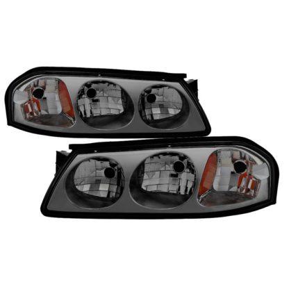 ( xTune ) Chevrolet Impala 00-04 OEM Headlamps - Smoke