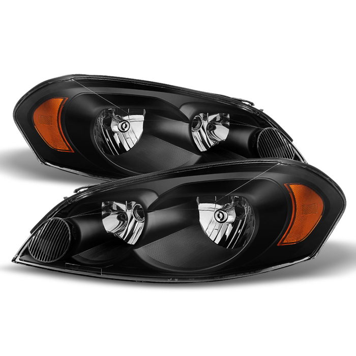 ( xTune ) Chevy Impala 06-13 Monte Carlo 06-07 Crystal Headlights - Black