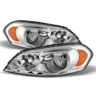 ( OE ) Chevy Impala 06-13 Monte Carlo 06-07 Crystal Headlights - Chrome