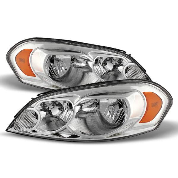 ( OE ) Chevy Impala 06-13 Monte Carlo 06-07 Crystal Headlights – Chrome