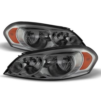 ( xTune ) Chevy Impala 06-13 Monte Carlo 06-07 Crystal Headlights - Smoked