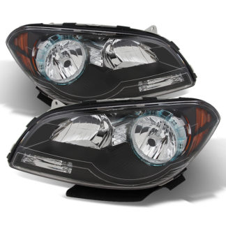 ( xTune ) Chevy Malibu 2008-2012 Crystal Headlights - Black
