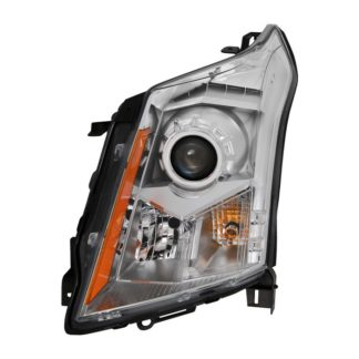 ( OE ) Cadillac SRX 10-14 Driver Side Halogen Headlight - OEM L