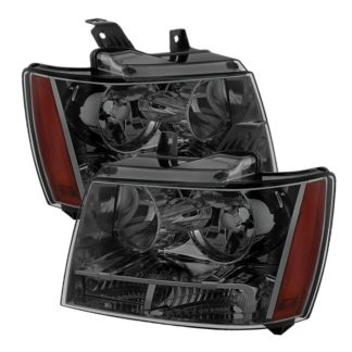 ( xTune ) Chevy Suburban 1500/2500 07-14 / Chevy Tahoe 07-14 / Avalanche 07-14 Crystal Headlights - Smoke