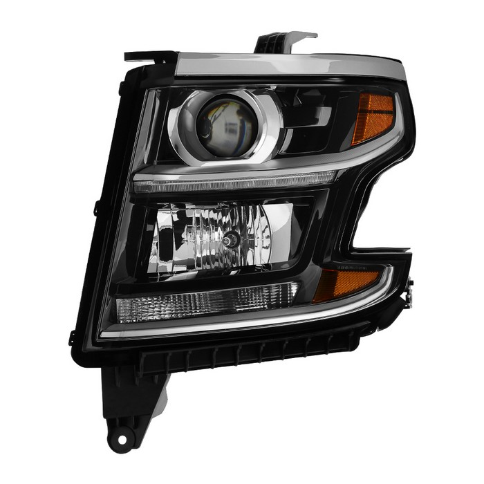 ( POE ) Chevy Suburban 2015-2017 / Tahoe 2015-2017 Tahoe Halogen Models Only ( Don't fit Xenon HID and Projector Models )  Driver Side Headlights -OEM Left
