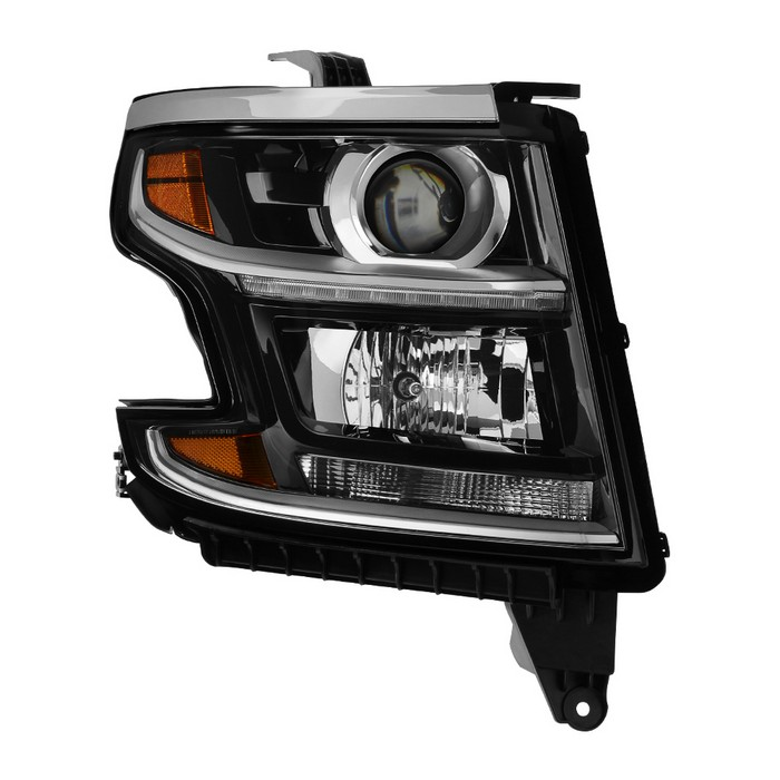 ( POE ) Chevy Suburban 2015-2017 / Tahoe 2015-2017 Tahoe Halogen Models Only ( Don't fit Xenon HID and Projector Models )  Passenger Side Headlight -OEM Right
