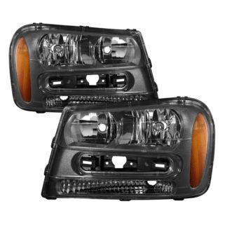 ( xTune ) Chevy Trailblazer 02-09 Crystal Headlights - OEM