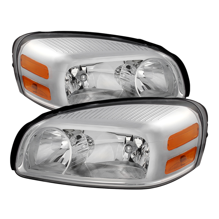 ( OE ) Chevy Uplander 05-09/Pontiac Montana SV6 05-09/Buick Terraza 05-07/Saturn Relay Headlights -Chrome