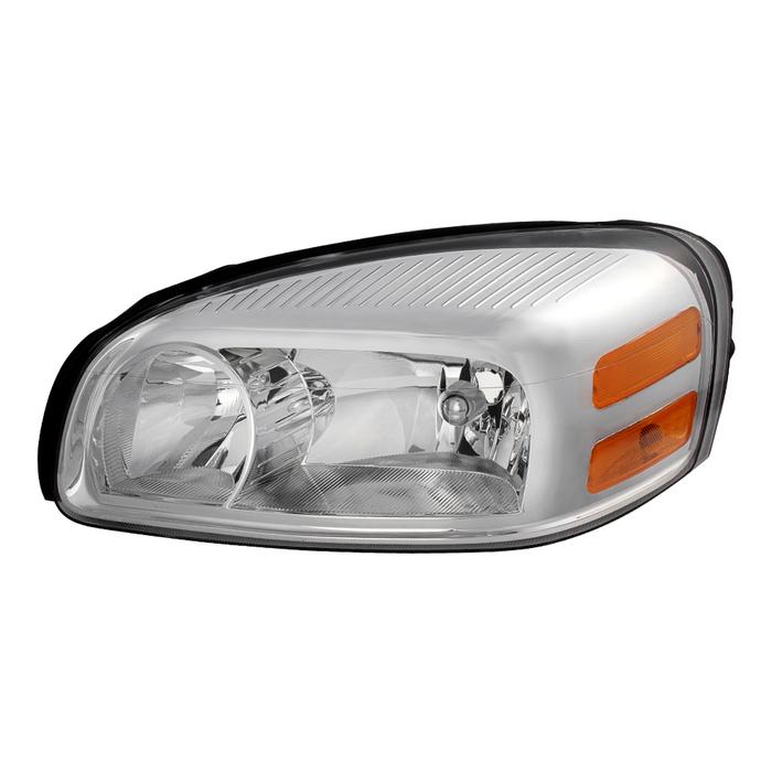 ( OE ) Chevy Uplander 05-09/Pontiac Montana SV6 05-09/Buick Terraza 05-07/Saturn Relay Driver Side Headlights -OEM Left