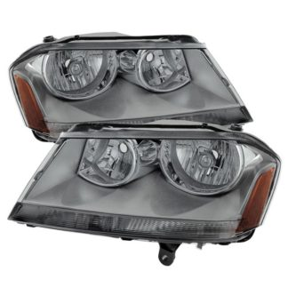 ( xTune ) Dodge Avenger 08-14 Crystal Headlights - Smoke