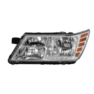 ( OE ) Dodge Journey 2009-2018 without Black Trim Driver Side Headlight -OEM Left