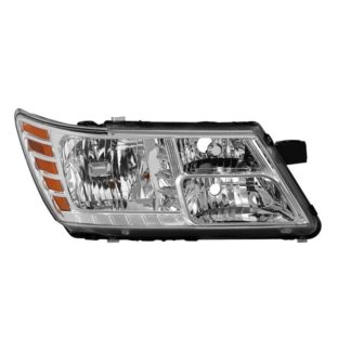 ( OE ) Dodge Journey 2009-2018 without Black Trim Passenger Side Headlight -OEM Right