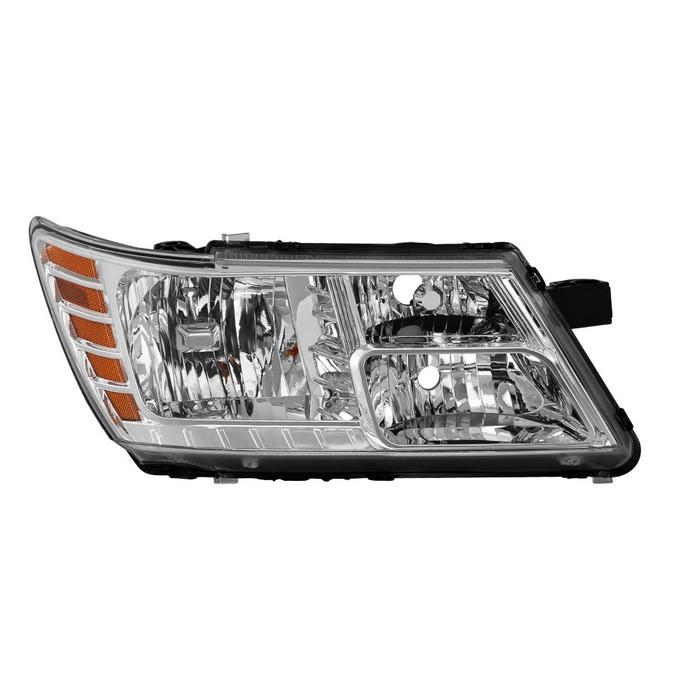 ( OE ) Dodge Journey 2009-2018 without Black Trim Passenger Side Headlight -OEM Right