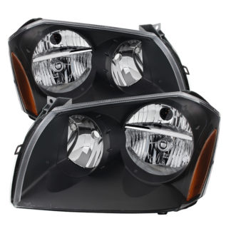 ( xTune ) Dodge Magnum 05-07 Crystal Headlights – Black