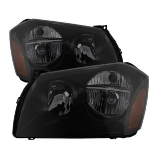 ( xTune ) Dodge Magnum 05-07 Crystal Headlights - Black Smoked