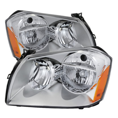 ( OE ) Dodge Magnum 05-07 Crystal Headlights - Chrome