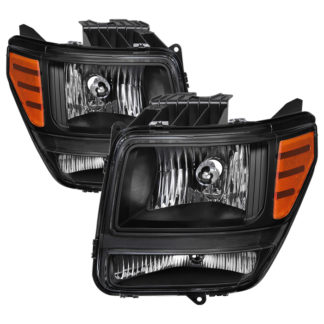 ( xTune ) Dodge Nitro 2007-2011 OEM Style Headlights – Black