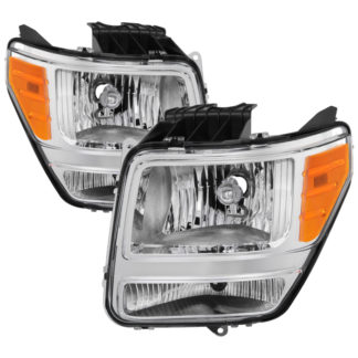 ( OE ) Dodge Nitro 2007-2011 OEM Style Headlights - Chrome