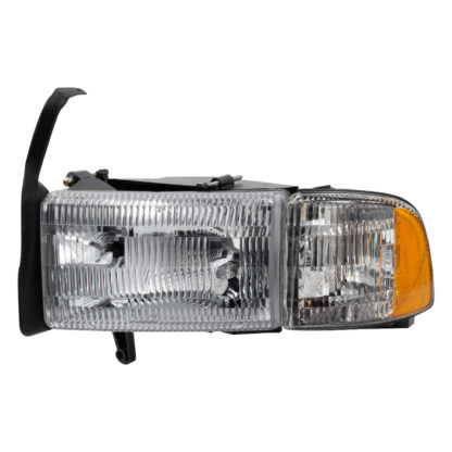 ( OE ) Dodge Ram 1500 94-01 (don't fit Sport Package )/ Ram 2500 3500 94-02  OEM Style headlights With Corner Driver Side -Left