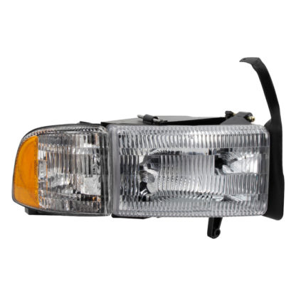 ( OE ) Dodge Ram 1500 94-01 (don't fit Sport Package )/ Ram 2500 3500 94-02  OEM Style headlights With Corner Passenger Side -Right