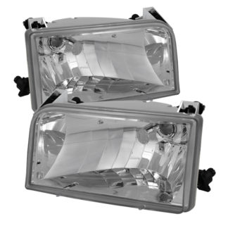 ( OE ) Ford F150/Bronco 92-96 Crystal Headlights - Chrome