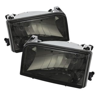 ( xTune ) Ford F150/Bronco 92-96 Crystal Headlights - Smoke