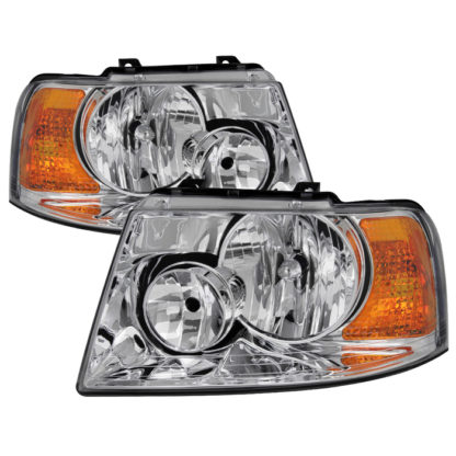 ( OE ) Ford Expedition 03-06 OEM Style Headlights - Chrome