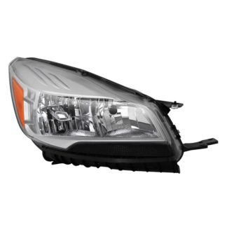 ( OE ) Ford Escape 2013-2016 ( Don't Fit Xenon HID Models )  Passenger Side Headlight -OEM Right