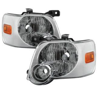 ( OE ) Ford Explorer 2006-2010 OEM Style Headlights - Chrome