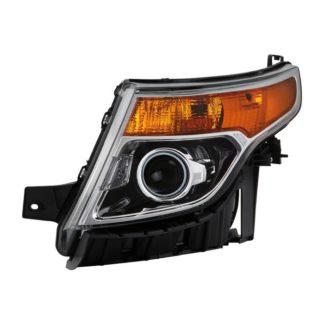 ( OE ) Ford Explorer 2011-2015 Halogen Models Only ( Don't Fit Xenon HID Models ) Driver Side Headlights -OEM Left