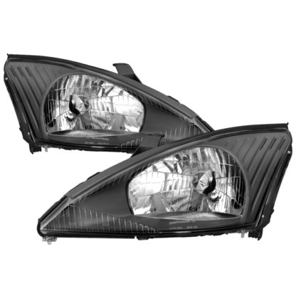 ( xTune ) Ford Focus 00-04 OEM Style Headlights - Black