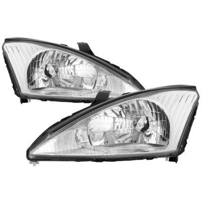 ( OE ) Ford Focus 00-04 OEM Style Headlights - Chrome