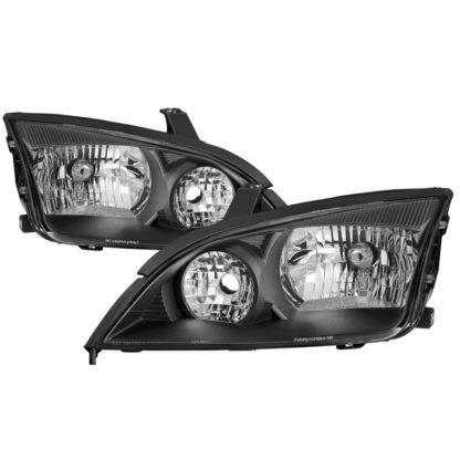 ( xTune ) Ford Focus 05-07 OEM Style Headlights - Black