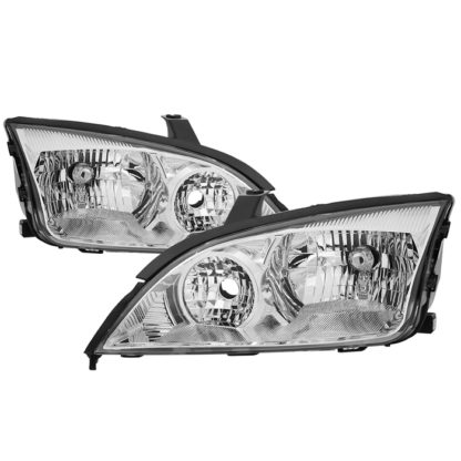 ( OE ) Ford Focus 05-07 OEM Style Headlights - Chrome