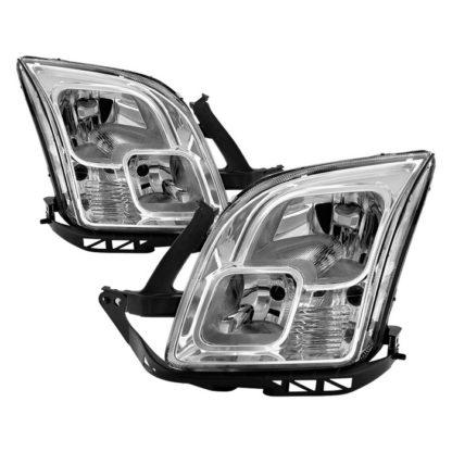 ( OE ) Ford Fusion 2006-2009 OEM Style Headlights -Chrome