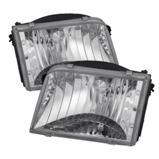 ( OE ) Ford Ranger 93-97 Crystal Headlights – Chrome