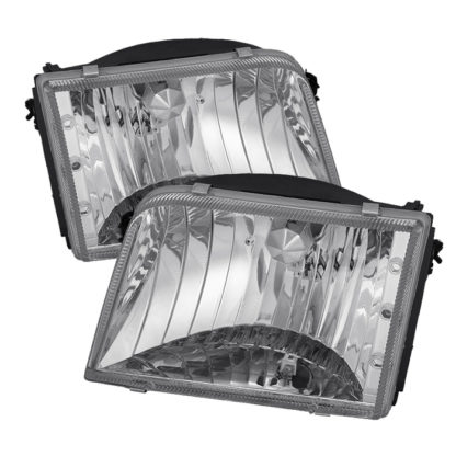 ( OE ) Ford Ranger 93-97 Crystal Headlights - Chrome