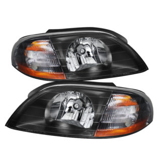 ( xTune ) Ford Windstar 99-03 Crystal Headlights - Black
