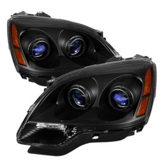 ( xTune ) GMC Acadia 2007-2012 Crystal Headlights - Black